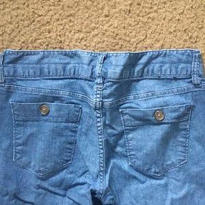 Banana Republic Wide Leg Light Wash Jeans